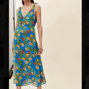Topshop midi fruit dress!